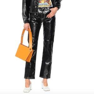 EYTYS Cypress Tar high-rise straight jeans